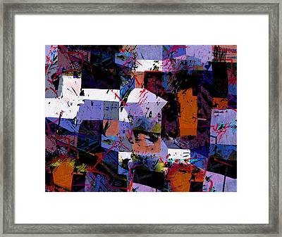 Neoliberal Chaos  Framed Print by Paul Sutcliffe