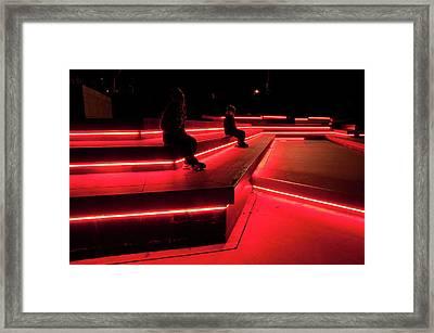 Neon City Framed Print by Tim Nichols