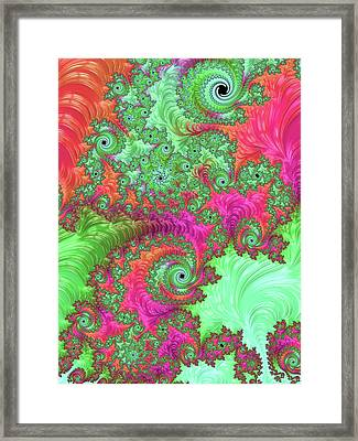 Neon Dream Framed Print