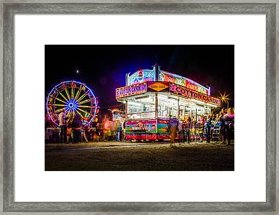 Neon Fun Framed Print by Bryan Moore
