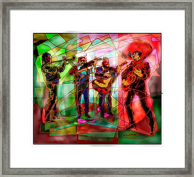 Neon Mariachi Framed Print by Dean Gleisberg