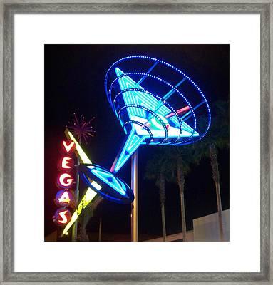 Neon Signs 1 Framed Print by Anita Burgermeister