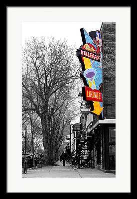 Montreal Diners Framed Prints