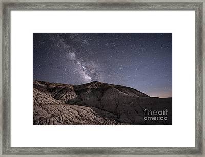 Framed Print featuring the photograph Neopolitan Milkyway by Melany Sarafis