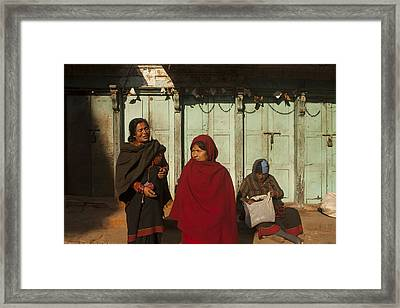 Nepalese Afternoon Framed Print