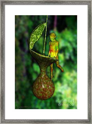 Nepenthes Pixi 2 Framed Print by Michael Hallam