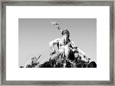Neptune Framed Print by Marc Huebner