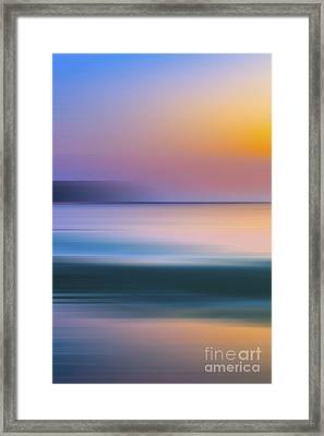 Neptune Step -1 Of 3 Framed Print by Sean Davey