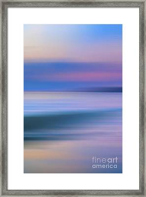 Neptune Step - 3 Of 3 Framed Print by Sean Davey