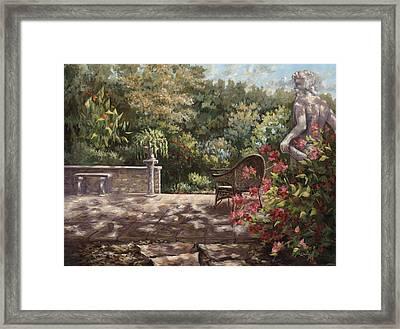 Neptunes Garden Framed Print