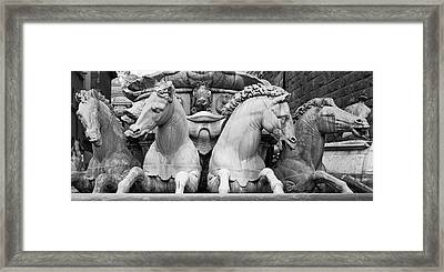 Neptune's Horses Framed Print by Richard Goodrich