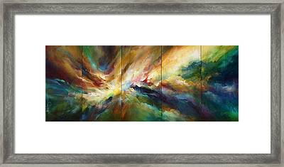 'neptunes Pass' Framed Print by Michael Lang