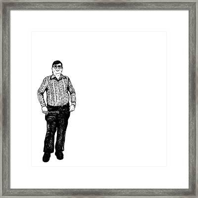 Nerds Nerds Nerds Framed Print