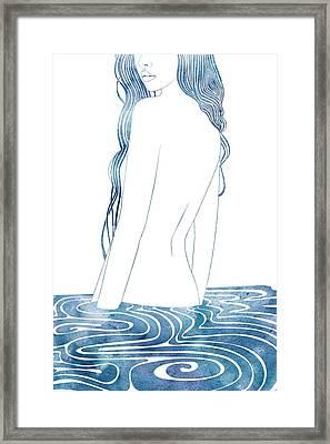 Nereid L Framed Print