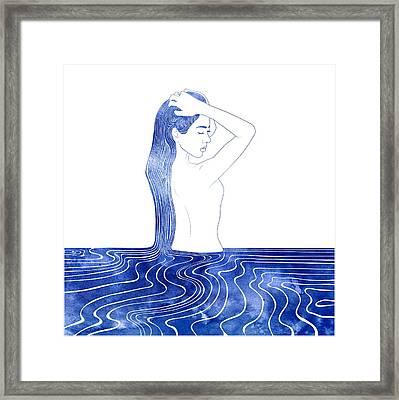 Nereid Vii Framed Print