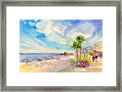 Nerja Beach 01 Framed Print