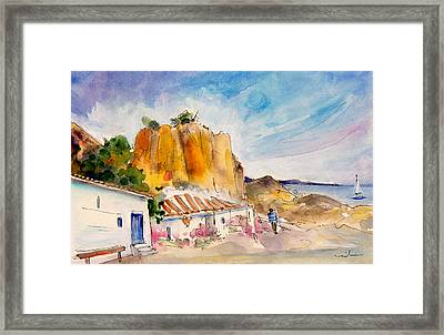 Nerja Beach 02 Framed Print