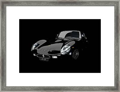 Nero 1963 Framed Print by Dan Lennard