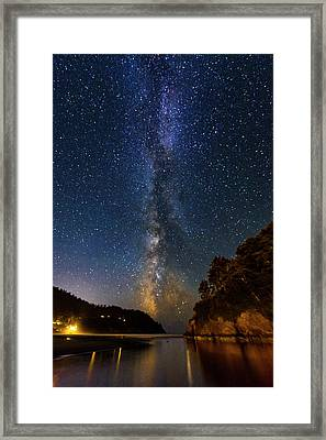 Neskowin Milky Way Framed Print