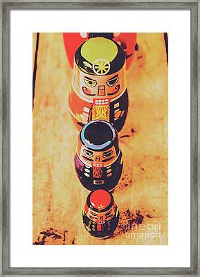 Nesting Dolls Framed Print by Jorgo Photography - Wall Art Gallery