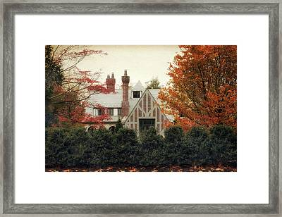 Nestled In Autumn Framed Print by Jessica Jenney