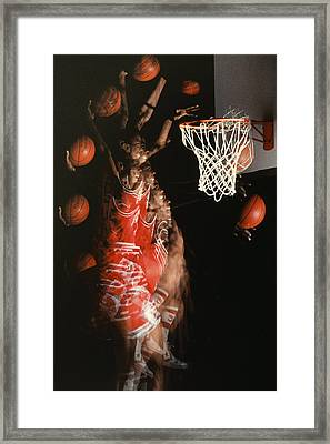 Net Fever Framed Print