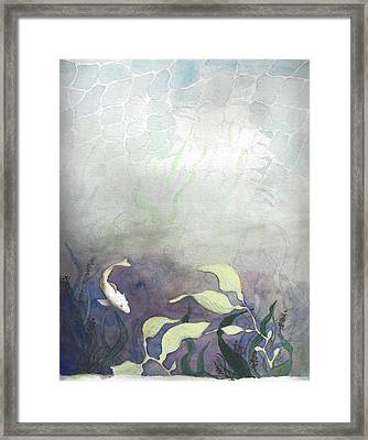 Net Loss Framed Print