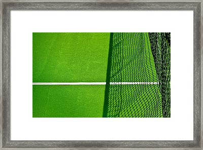 Net Shadow Framed Print