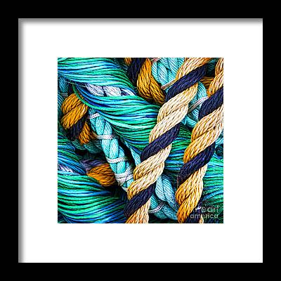Rope Framed Prints