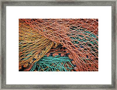 Nets On Skye Framed Print