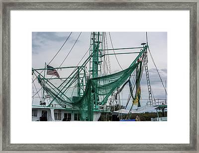 Nets Framed Print