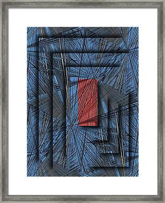 Networking Framed Print by Tim Allen