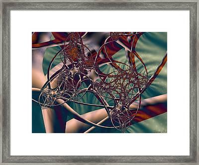Neuro Imagery Framed Print by Lauren Goia