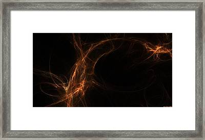 Neuron Highway Framed Print by Shan Peck