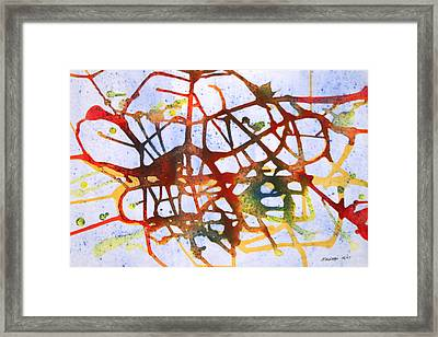 Neuron Framed Print