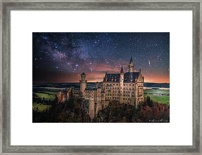 Neuschwanstein Castle Framed Print by Brent Shavnore
