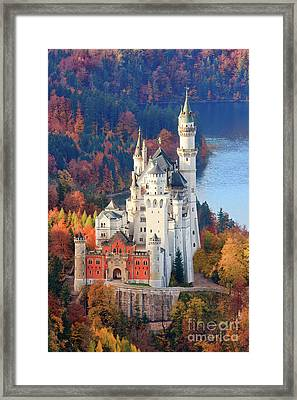 Neuschwanstein - Germany Framed Print