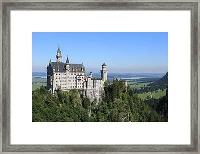 Neuschwastein Castle Framed Print by Michael  Kenney