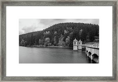 Neustadt Dam , Southern Harz Framed Print by Andreas Levi