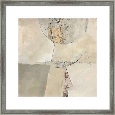 Neutral 11 Framed Print by Jane Davies