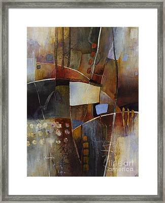 Neutral Elements 2 Framed Print by Hailey E Herrera