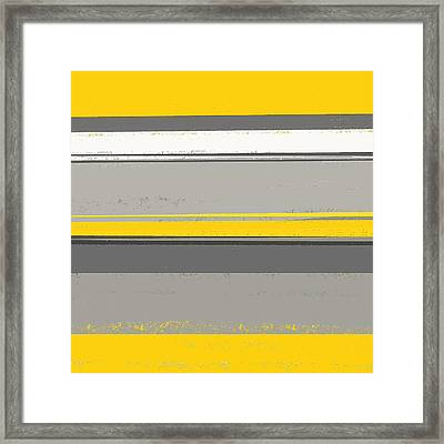 Neutral Harmony Framed Print by Lourry Legarde