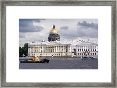 Neva Riveer C127 Framed Print by Charles  Ridgway