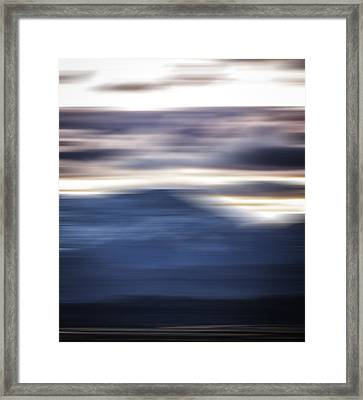 Nevada Blur #1 Framed Print by Rob Worx