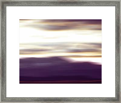 Nevada Blur #2 Framed Print by Rob Worx