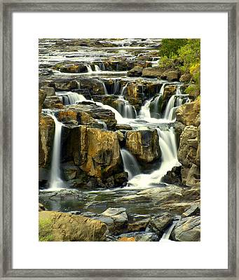 Nevada Falls Framed Print by Marty Koch