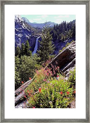 Nevada Falls Yosemite National Park Framed Print