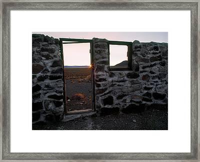Nevada Pioneer History Framed Print