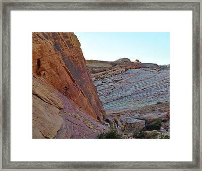 Nevada Rocks 2 Framed Print