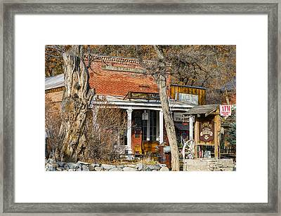 Nevada Thirst Parlor Framed Print by Jens Peermann